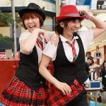 女性コンビジャグリング リーリーブロッサム(北海道)