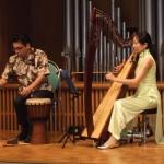 歌とハープの演奏と命の講演会 (大阪)