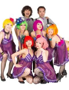 バーレスク 紫ベビードール