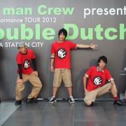 ダブルダッチ Fat man crew