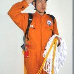 防災ロープパフォーマンス (静岡)